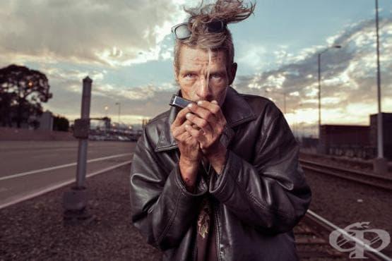 Фотограф показва бездомните в друга светлина, за да ни напомни, че те също са хора (галерия) - изображение