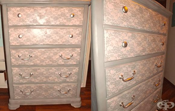 Как да преобразим стария си шкаф до неузнаваемост! - изображение