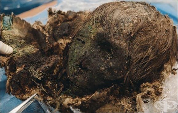 Запознайте се с мумифицираната сибирска красавица на 900 години със запазени коса и мигли - изображение