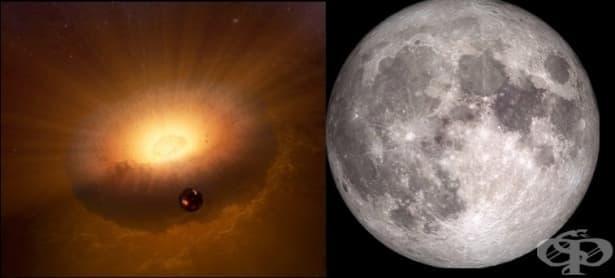 Нова теория за образуването на Луната: какво е синестия - изображение
