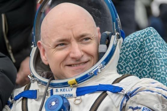 Астронавтът Скот Кели с ужасяващи здравословни проблеми след 1 година в космоса - изображение