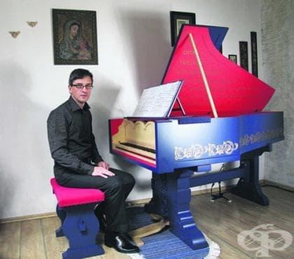 Полски композитор създаде инструмента виола органиста, изобретен от Леонардо да Винчи - изображение