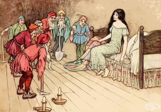 Консумиране на човешки органи и танц до смърт: Оригиналната история за Снежанка и седемте джуджета - изображение