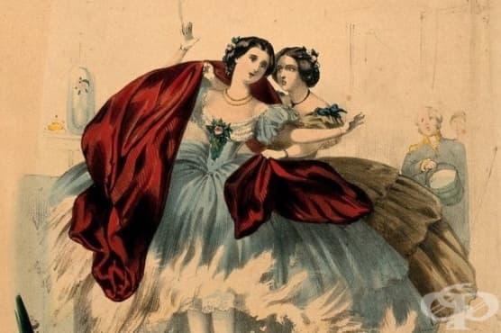 10 ужасяващи стандарти за красота от миналото - изображение