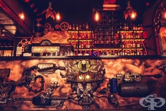 Първият кинетичен стиймпънк бар в света отваря врати в Румъния (галерия)  - изображение