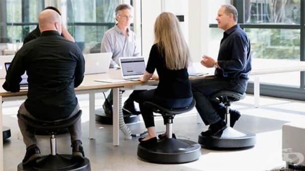 Изобретиха стол, който гори калории, докато работите - изображение