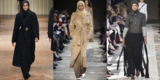 Халима Аден –  първият модел с хиджаб в света - изображение