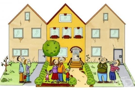 Кратка притча за двамата съседи - изображение