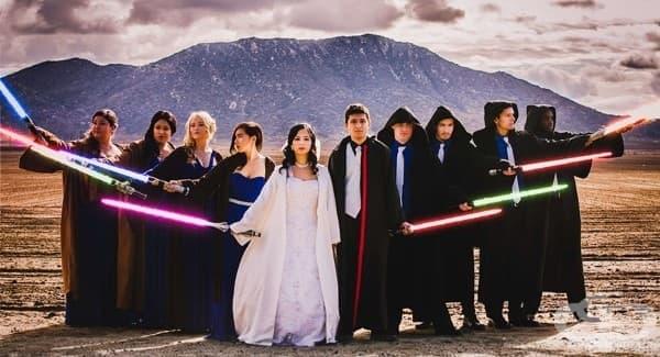 Вижте 10 от най-шантавите сватби, правени някога - изображение