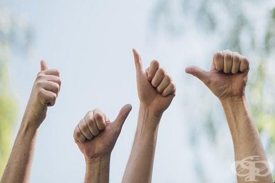Разберете каква личност сте с теста на палците - изображение
