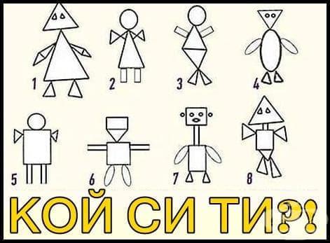 Геометрия на личността: Научете кои са силните страни в характера ви с този простичък визуален тест - отговорите - изображение