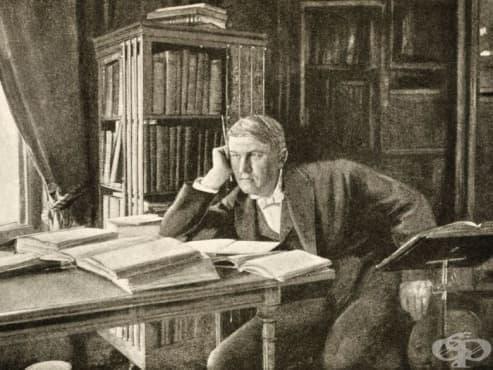 Научнофантастичният роман на Томас Едисън, за който никой не знае - изображение