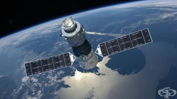 Китайската 8-тонна космическа лаборатория Тиангун-1 може да се разбие над България - изображение
