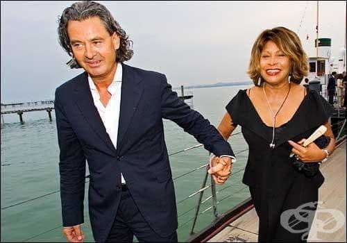 Тина Търнър се омъжва за продуцента Ервин Бах - изображение