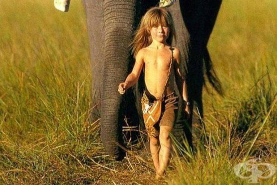 Типи от Африка - съвременната история за Маугли - изображение