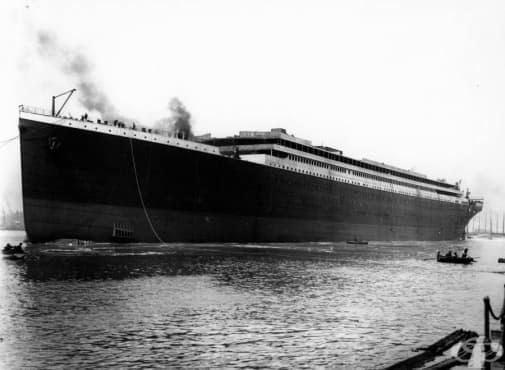12 снимки от Титаник, които не сте виждали преди - изображение