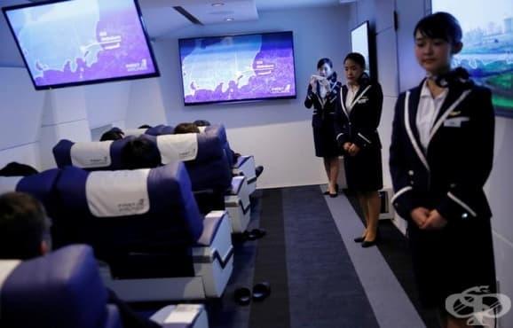 Японска авиокомпания отвори ресторант, който предлага първокласно виртуално изживяване - изображение