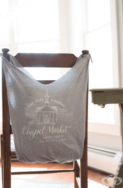 Направете си торбичка за покупки от стара тениска - само за 10 минути и без шиене! - изображение