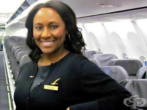 Стюардеса спасява момиче, жертва на сексуален трафик - изображение