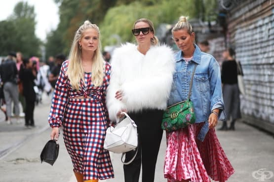 Уроци по стил от скандинавските момичета - изображение