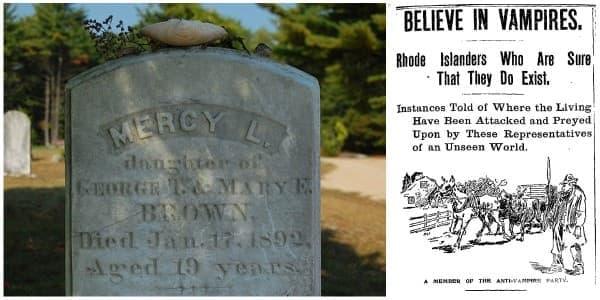 Легендата за Мърси Браун: вампирът от Ню Ингланд - изображение