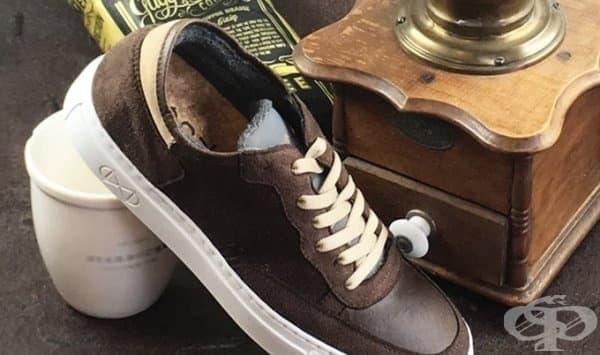 Веган обувки от кафе - ухаят ли обувките на кафе  - изображение