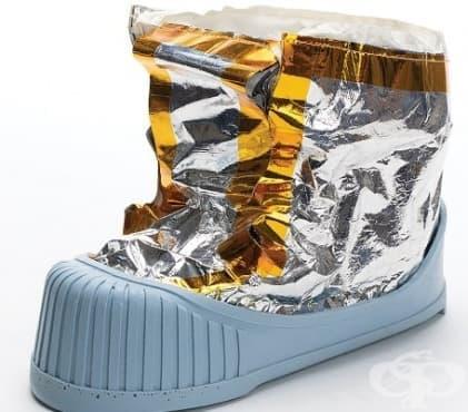 Обувка на Нийл Армстронг - продадена на търг - изображение