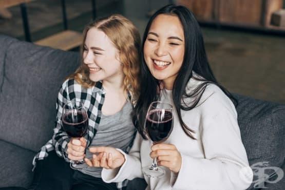 Виното предпазва от възпалено гърло и зъбна плака - изображение