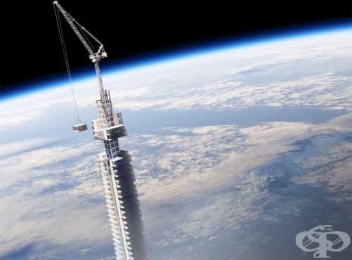 Проектират небостъргач, който ще виси от астероид - изображение