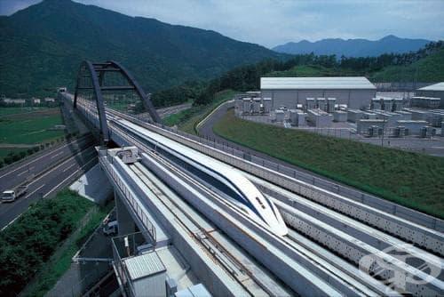 Най-бързият високоскоростен магнитен влак в света, достигащ 501 км/ч, качи първите си пътници (Видео) - изображение