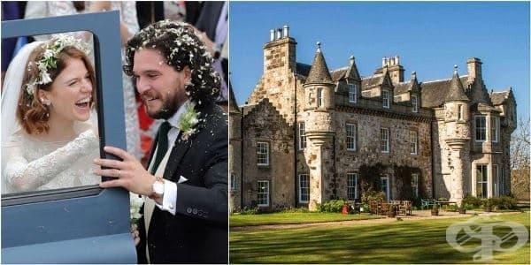 Добре дошли в Уортхил – замъкът в който Кит Харингтън и Роуз Лесли си казаха да - изображение