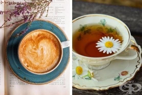 Защо да пиете чай вместо кафе - изображение