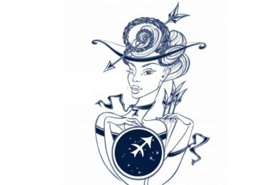 Жената Стрелец - стопля душата, възпламенява страстта и изгаря вcичкo по пътя си - изображение