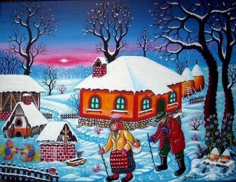 Български традиции, обреди и обичаи - зимни празници - изображение
