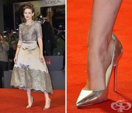 Защо звездите носят по-голям номер обувки на червения килим? - изображение