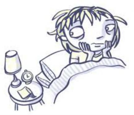 Нарушение в заспиването и продължителността на съня [безсъние] МКБ G47.0 - изображение