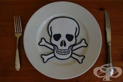 Други отровни вещества, съдържащи се в изядени хранителни продукти МКБ T62.8 - изображение