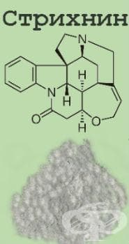 Стрихнин и неговите соли МКБ T65.1 - изображение
