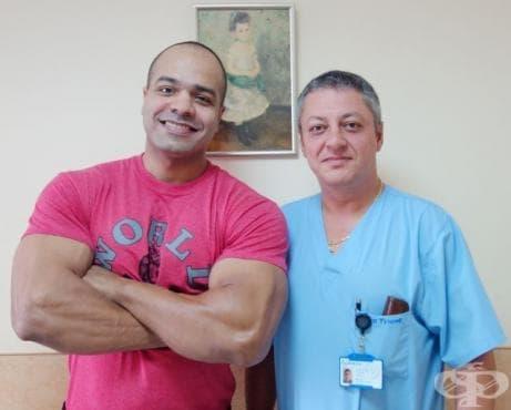 """Известният египетски бодибилдър Карим Фарраг претърпя успешна операция на двустранна херния във """"Вита Херния Център"""" - изображение"""
