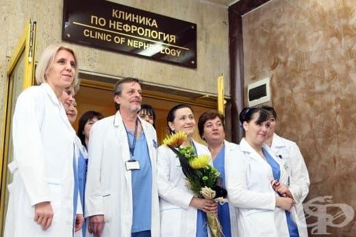 ВМА откри новата Клиника по нефрология и обновената Аула - изображение