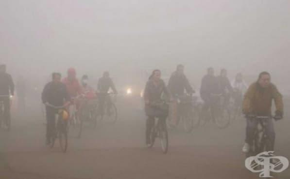 Новата година в Китай започна с гъст смог над няколко града - изображение