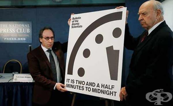 С 30 секунди напред бяха преместени стрелките на Часовника на Страшния съд - изображение