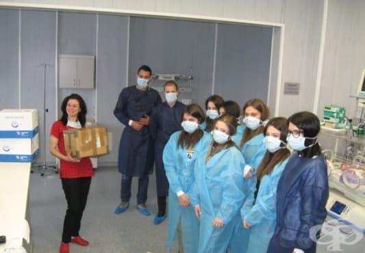 Детската хирургия на УМБАЛ - Пловдив получи като дарение апарати за вливания на медикаменти - изображение