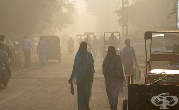 Токсичен смог причинява здравословни проблеми на жителите на Делхи - изображение