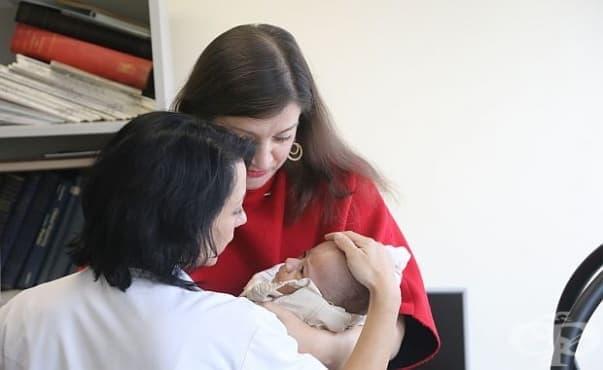 """От Втора АГ болница """"Шейново"""" направили 850 посещения по проекта за грижа към недоносените бебета - изображение"""