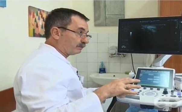 МУ – Варна предостави на Катедрата по ортопедия модерен ехографски апарат - изображение