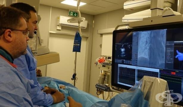 """Лекари от """"Токуда"""" извършиха първата криоаблация на предсърдно мъждене с интракардиална ехокардиография у нас - изображение"""