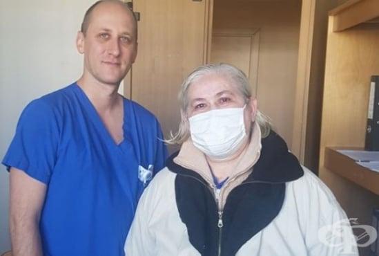 """Екип от """"Токуда"""" извърши лапароскопска операция на жена с рак на яйчника и премахна изцяло матката, яйчниците и големия оментум - изображение"""