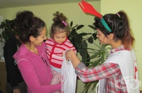 Доброволци от БЧК в Бургас организираха няколко детски празненства - изображение