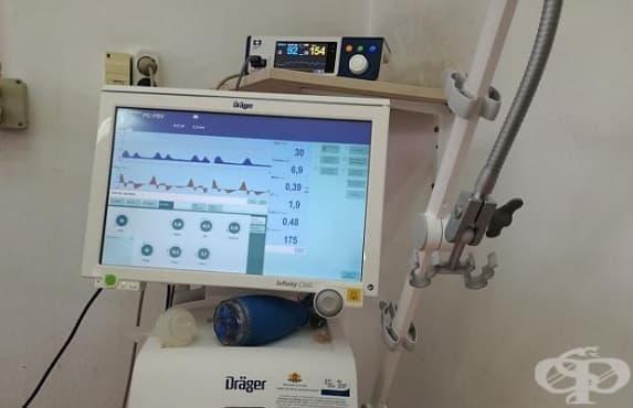 Клиниката по Неонатология към УМБАЛ Проф. д-р Ст. Киркович – Ст. Загора получи нова апаратура - изображение